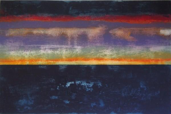 Abstract (purple) by Claudia de Grandi