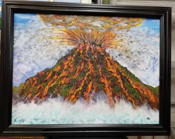 劳伦斯·杰·亚历克西斯的《火山》