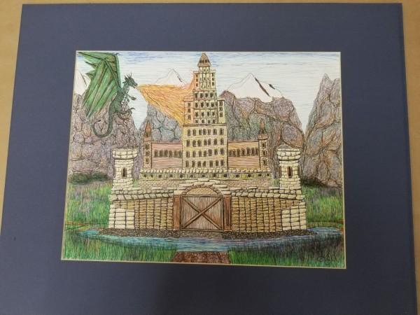 《墨水城堡》作者:劳伦斯·杰·亚历克西斯