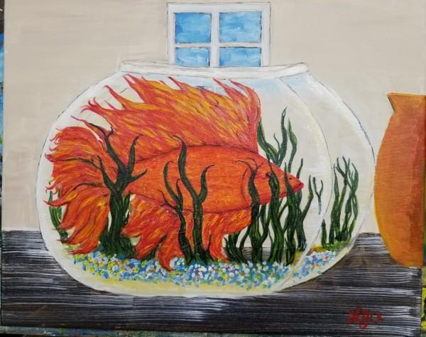 《碗里的金鱼》作者:劳伦斯·杰·亚历克西斯
