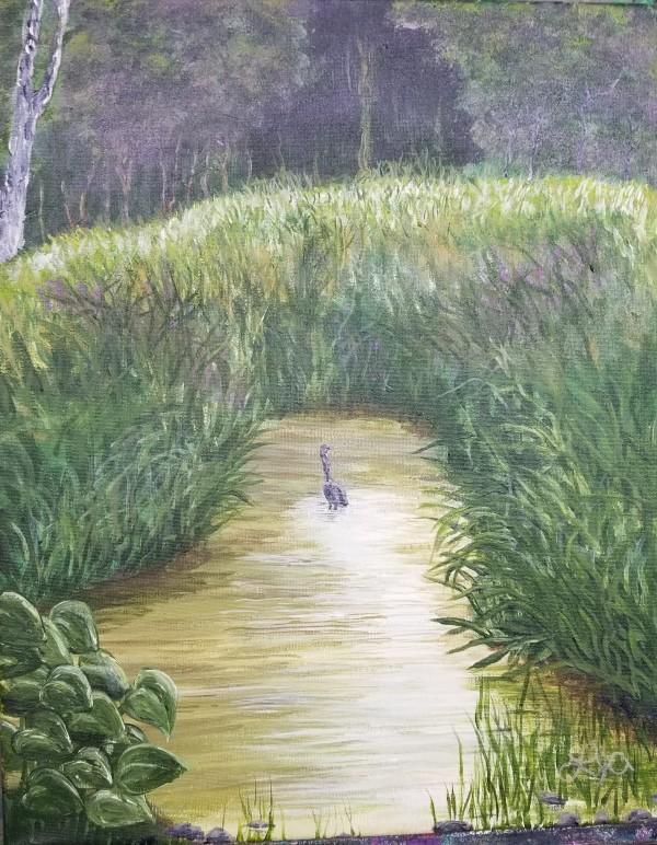 《小溪中的鸟》作者:劳伦斯·杰·亚历克西斯