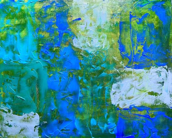 Ocean Blue by Golbou Rad