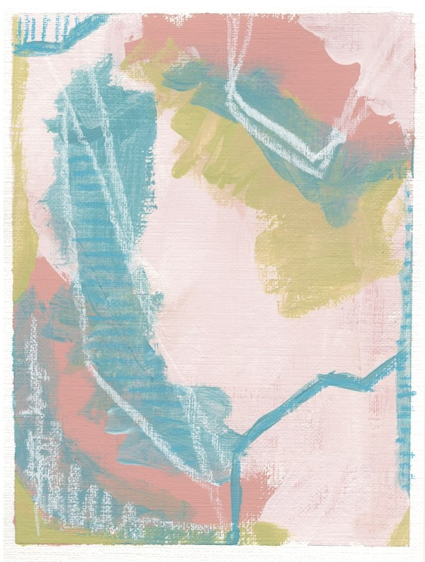 Mini Abstract Series 5 by Golbou Rad