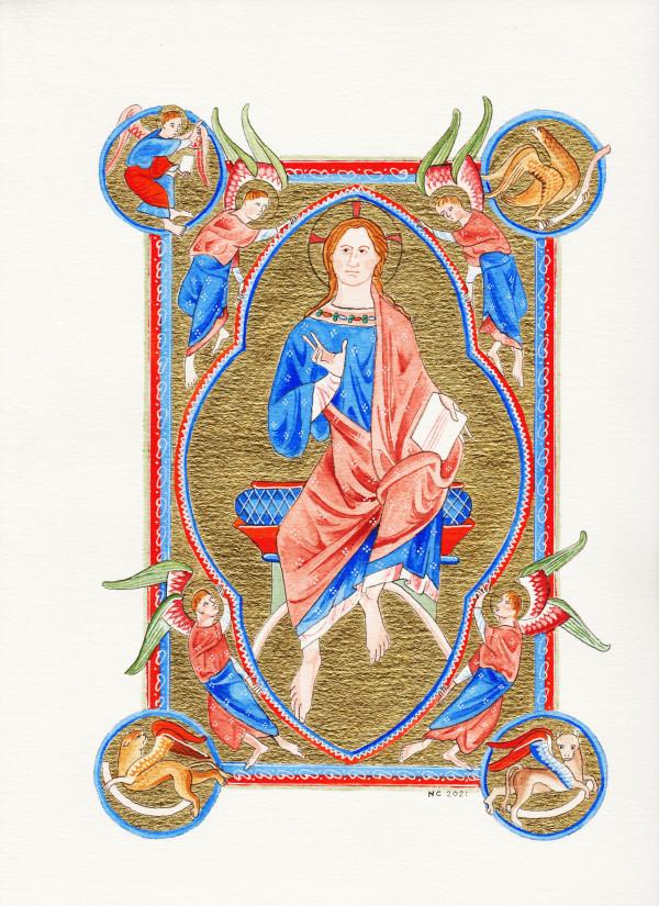 Christ by Nancy Cahuzac