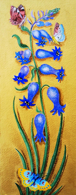 Les Clochettes (Bluebells) by Nancy Cahuzac