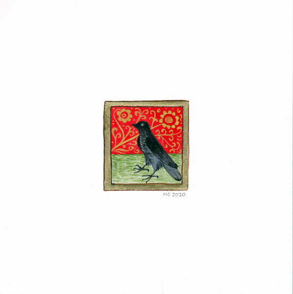 Le Corbeau (The Raven) by Nancy Cahuzac