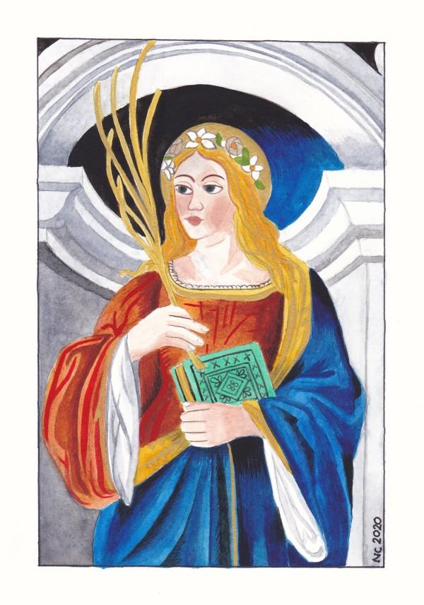 Sainte Cécile (Saint Cecile) by Nancy Cahuzac