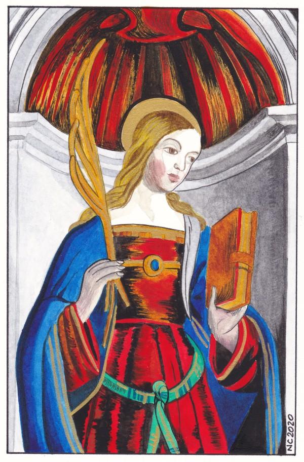 Sainte Libérate (Saint Liberate) by Nancy Cahuzac