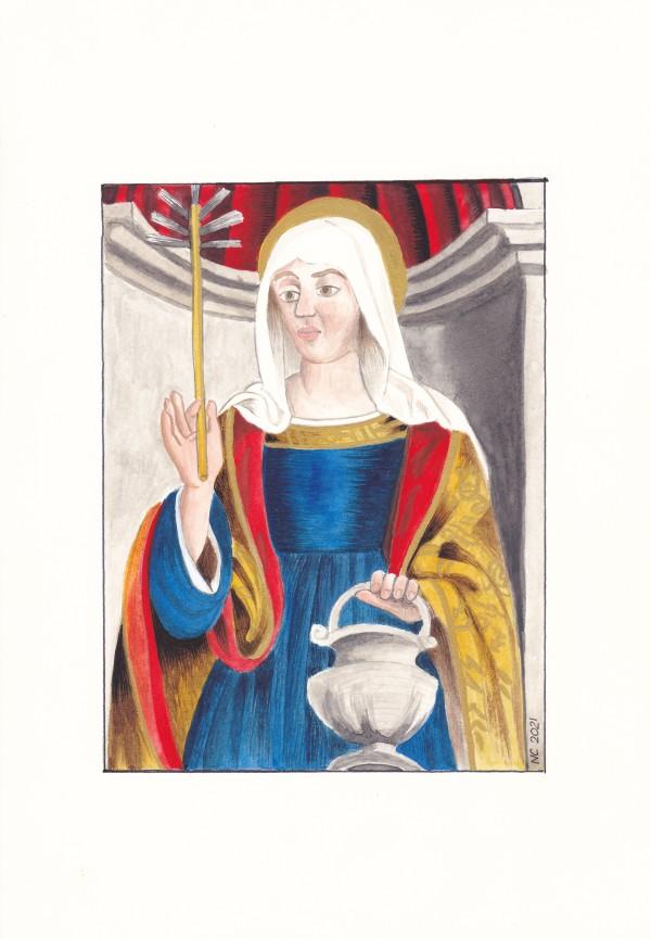 Sainte Marthe (Saint Martha) by Nancy Cahuzac
