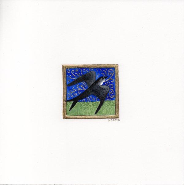 L'Hirondelle (The Swallow) by Nancy Cahuzac