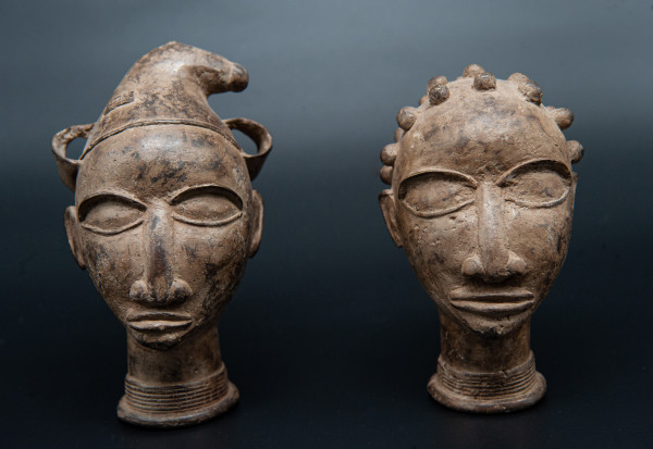 Two Nigerian Heads