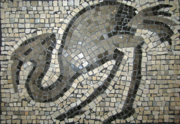 Bird Mosaic from Great Palace Museum by Pam