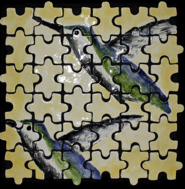 Puzzled Flight by Pam