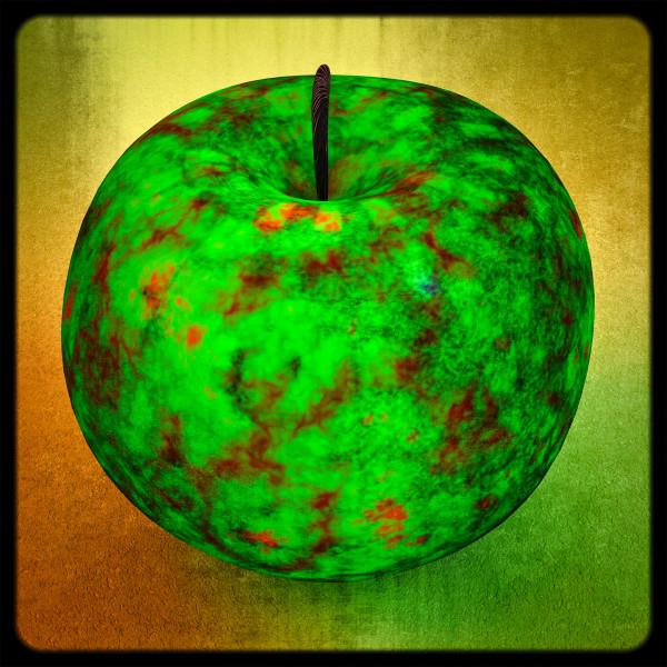 Green Apple, 2020 by Ronald Davis