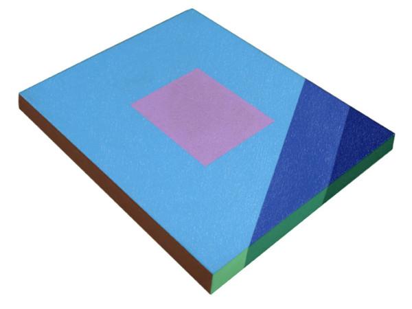 Blue Slabette by Ronald Davis