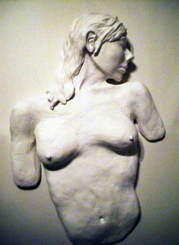 Ivory Bust by Angee Montgomery