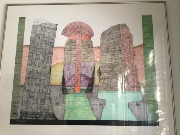 Tony Tascona,O.C.,LLD,RCA的绿墙