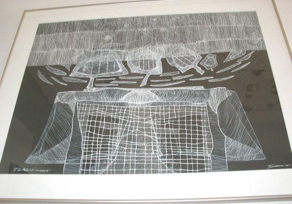 白色屏幕由Tony Tascona,O.C.,LLD,RCA