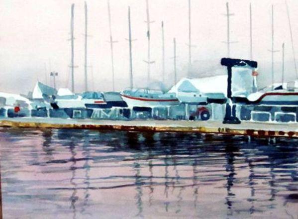 James Kershaw的《Boat Rack》