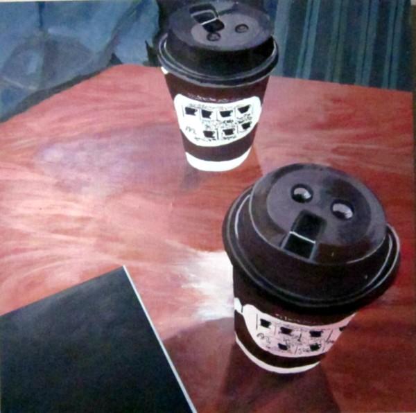 詹姆斯·克肖(James Kershaw)的《美景庄园的咖啡和写生簿》(Coffee & Sketchbook at the Fairview)