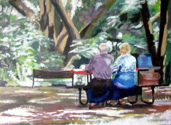 詹姆斯·克肖(James Kershaw)的《野餐》(Picnic)