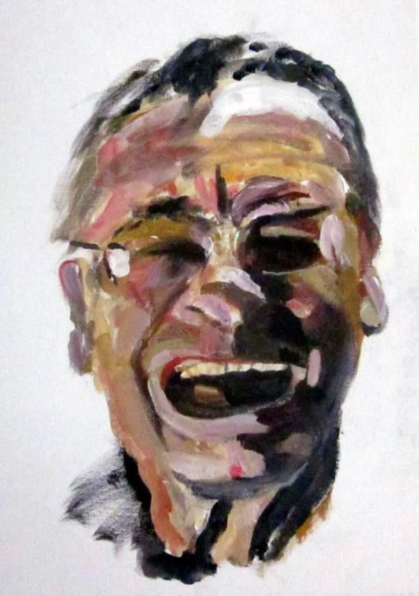 詹姆斯·克肖的自画像