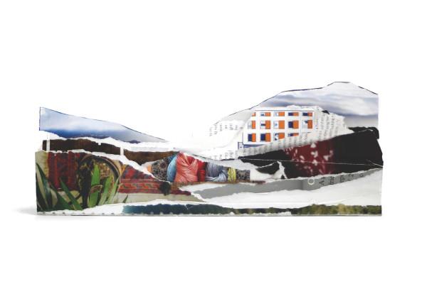 Found Landscape V by Nina Fraser