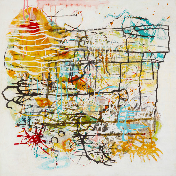 Tangled Mapping.3 by Barbara Fisher