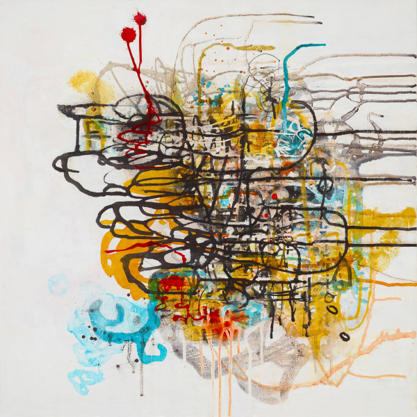Tangled Mapping.6 by Barbara Fisher