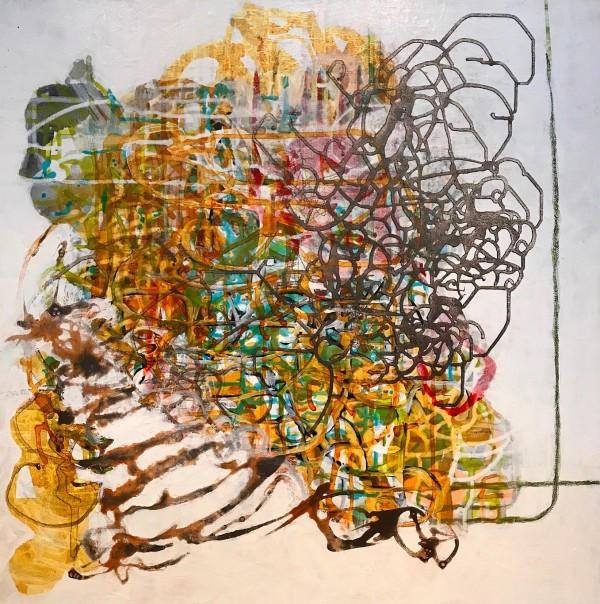 Tangled Mapping #78 by Barbara Fisher