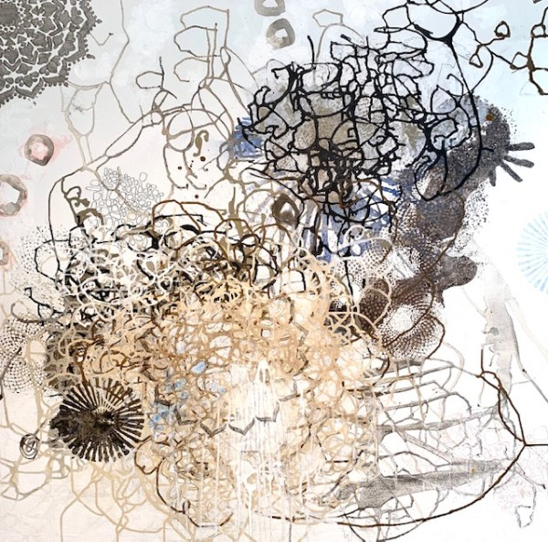 Tangle 28 by Barbara Fisher