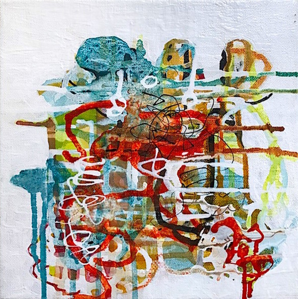 Thought Knot.3 by Barbara Fisher