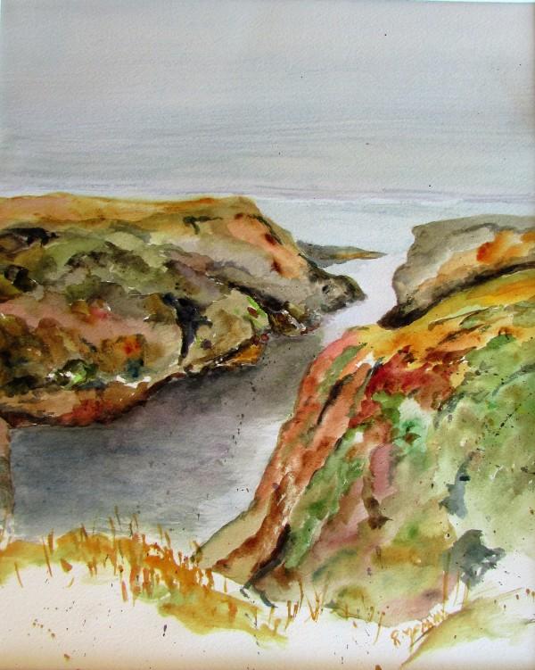 Mendocino Headlands 2 by Ruth McMillin