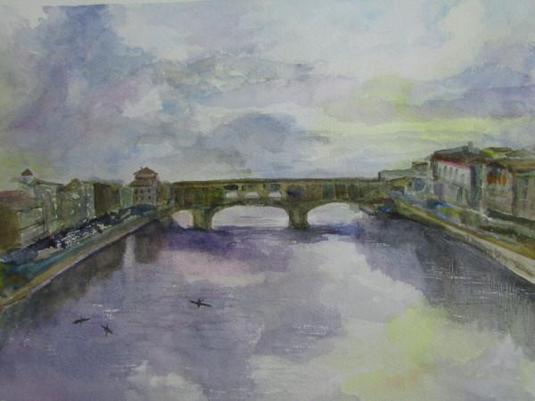 Ponte Vecchio by Ruth McMillin