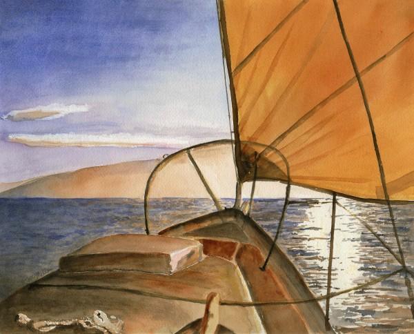 La Bella Sera/Sunset Sail by Ruth McMillin
