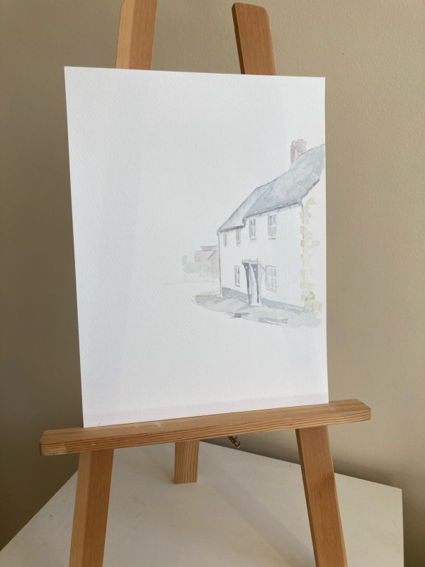 Charminster Watercolour sketch by Ally Tate