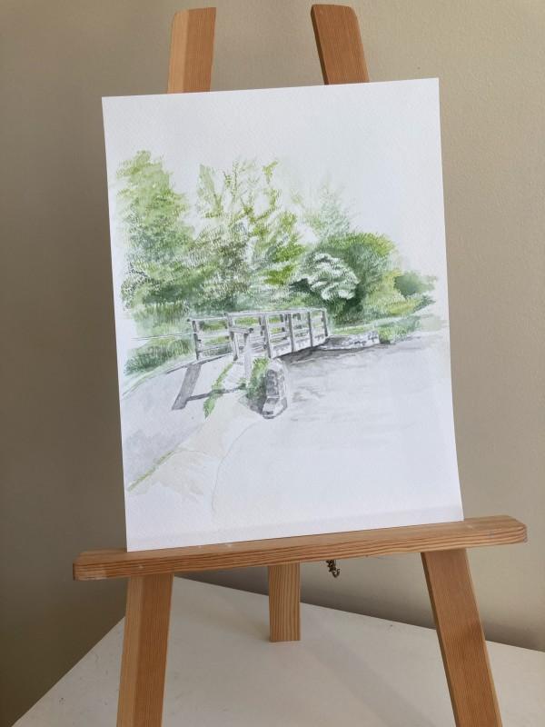 Charminster bridge by Ally Tate