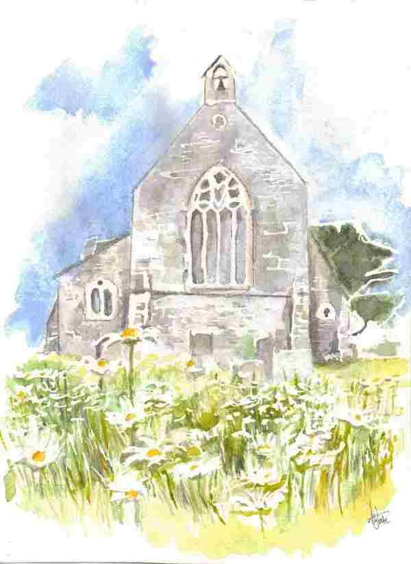 Eype Church by Ally Tate