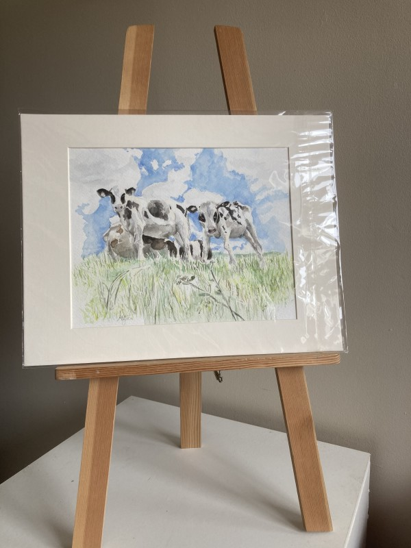 Bincombe Cows by Ally Tate