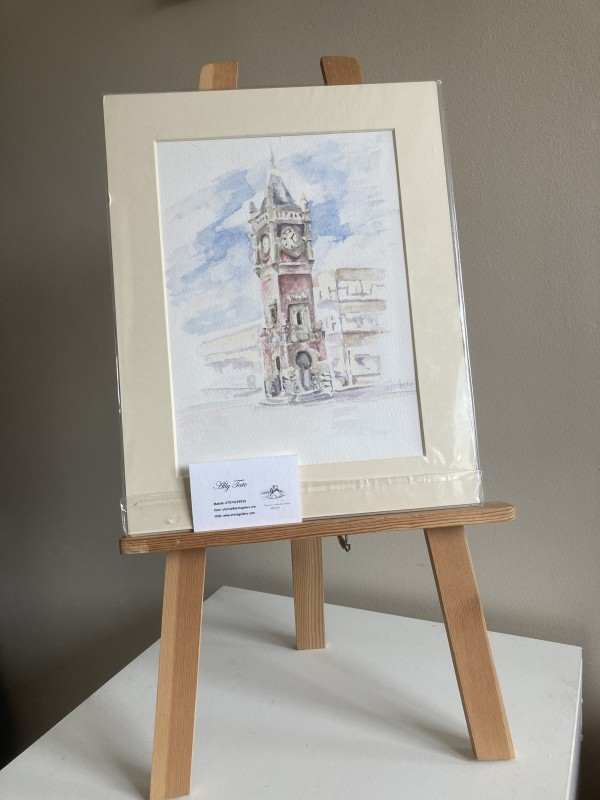 Redcar Clock by Ally Tate