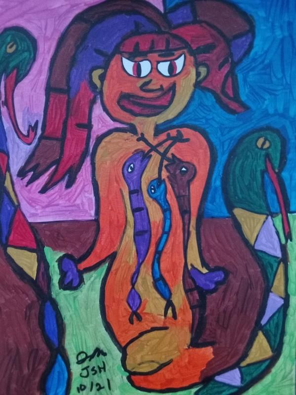 Anya Returns by Jonathan Sammuel Harrold