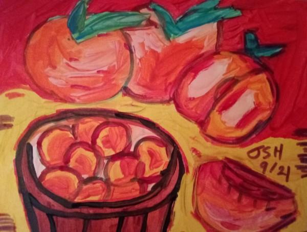 Augusta Peaches by Jonathan Sammuel Harrold