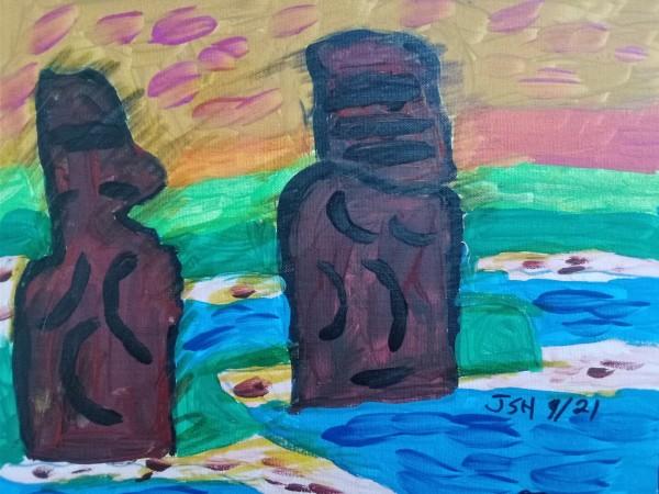 Easter Island by Jonathan Sammuel Harrold