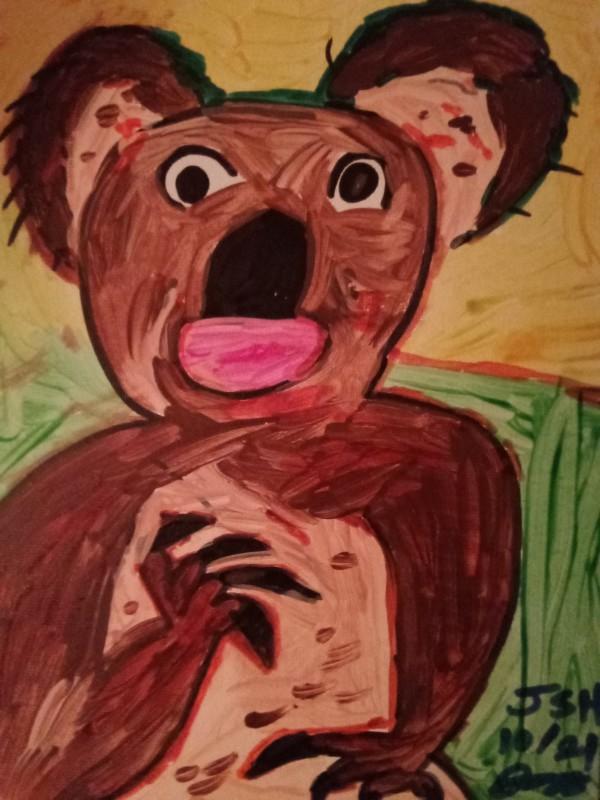 Keith The Koala Bear by Jonathan Sammuel Harrold
