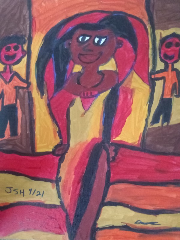 Maghdelena Has Arrived by Jonathan Sammuel Harrold