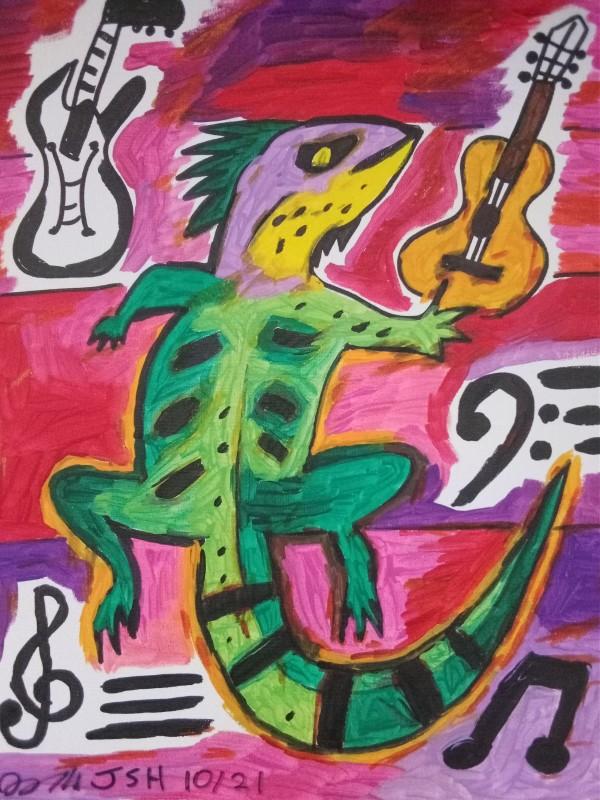 Milton's Iguana Music by Jonathan Sammuel Harrold