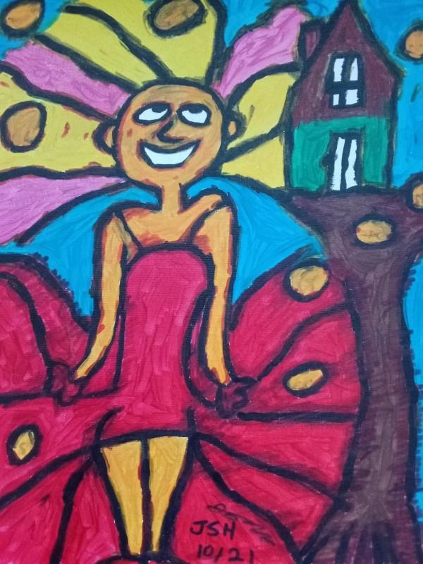 Miranda And The Orange Tree House by Jonathan Sammuel Harrold
