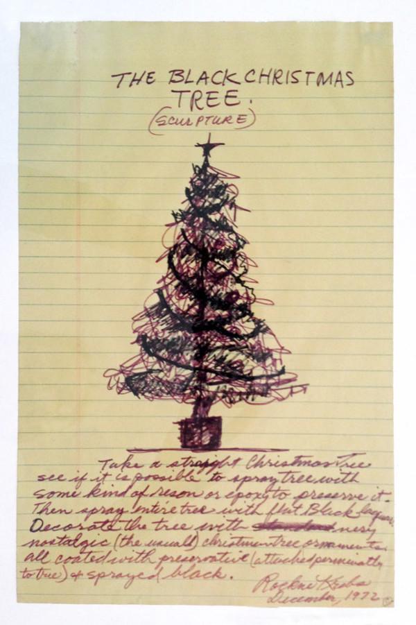The Black Christmas Tree, 1972 by Rockne Krebs
