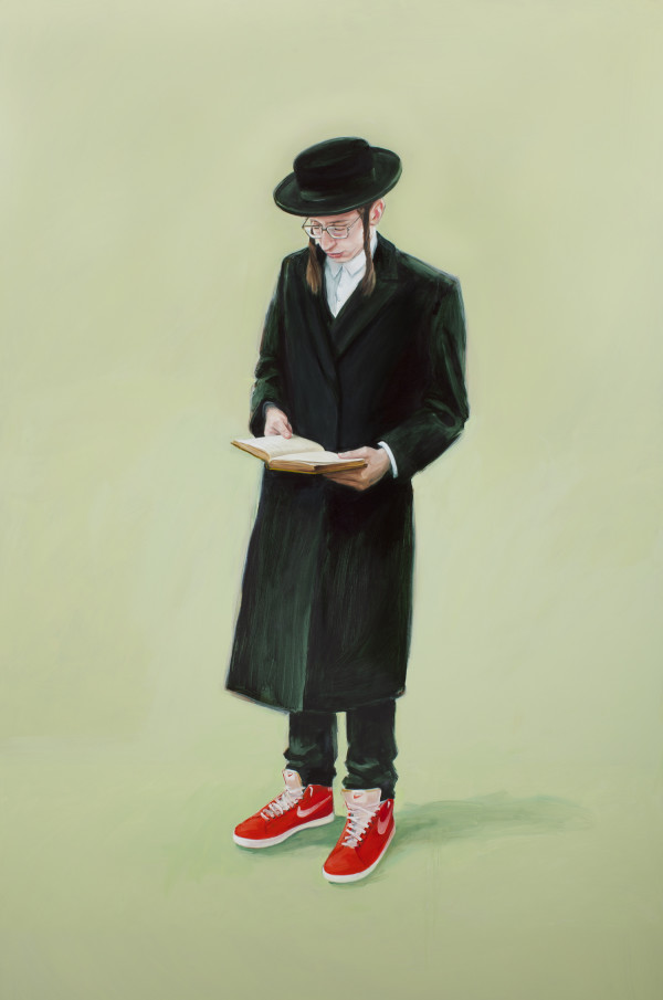 Friday Afternoon South Williamsburg by Oliver Jeffers