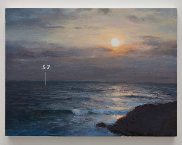 Fathom Seascape no. 4 by Oliver Jeffers